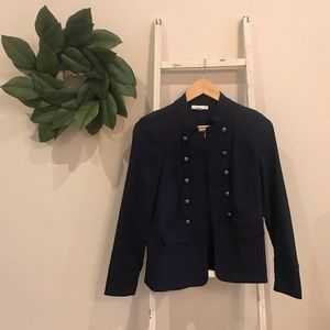 NEW Dress Barn Navy Blue Military Style Jacket